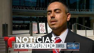 Temor en las cortes por acoso de ICE a indocumentados | Noticiero | Noticias Telemundo