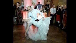 Красивый свадебный вальс, первый танец жениха и невесты, поддержки в танце)