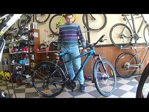 """Видео обзор дорожного велосипеда VNC 27,5"""" Expance A3, от велосипедного магазина VeloViva"""