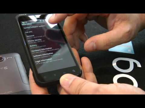HTC Incredible S video preview Full HD (IT)