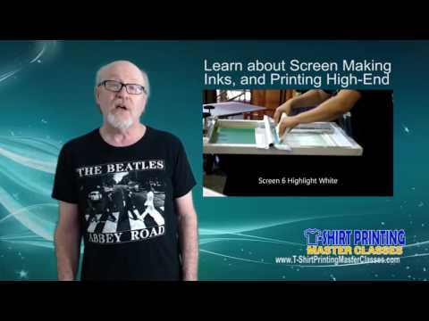 High-End T-Shirt Color Separations Master Class - Online Training