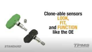 Standard TPMS Clone-able Sensors