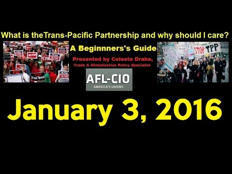 Webinar: TPP A Beginners' Guide + Training for Trainers 1/3/16