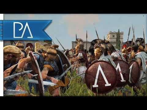 Spartans Lay Siege To Athens - Peloponnesian War - Total War: Rome 2