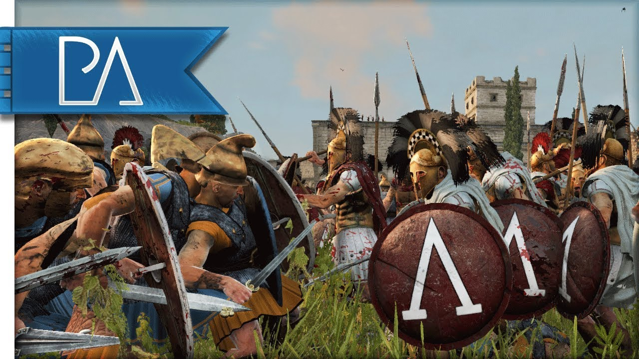 Download Spartans Lay Siege To Athens - Peloponnesian War - Total War: Rome 2