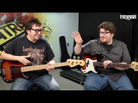 Fender Precision Bass Comparison (featuring Nick Maffei)