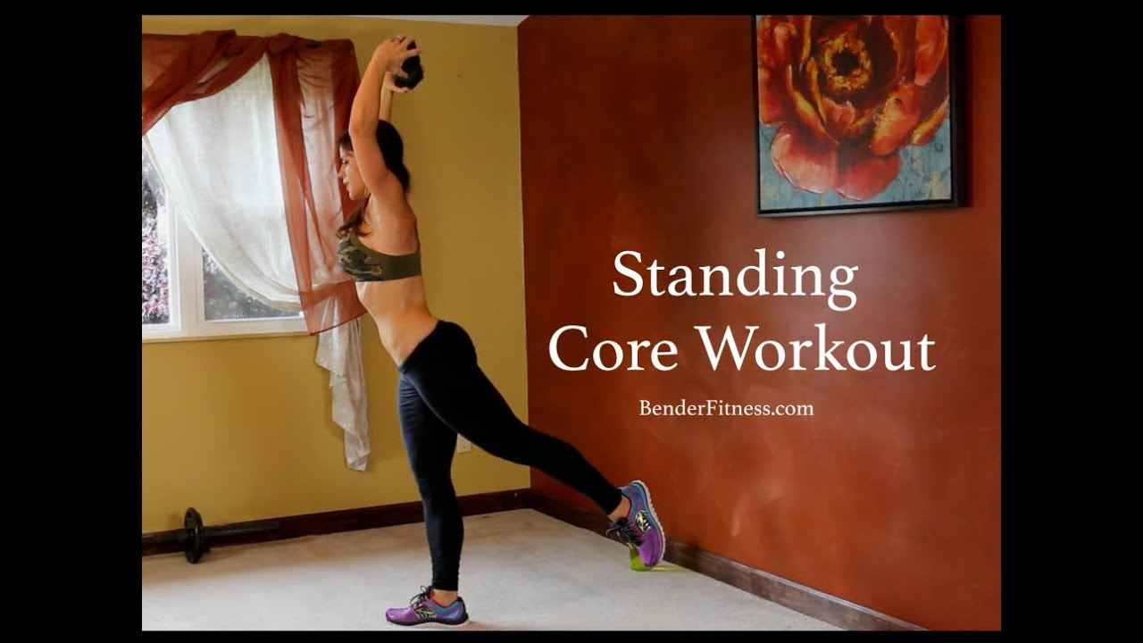 15 minute standing abs workout  no crunches