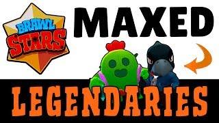 BRAWL STARS :: Max Legendary Gameplay & First Impressions (Spike & Crow)
