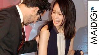 前田敦子、エレガントなロングドレス姿 裾踏みよろけてJ.J.エイブラムズがエスコート 映画「スター・トレック BEYOND」ジャパンプレミア2