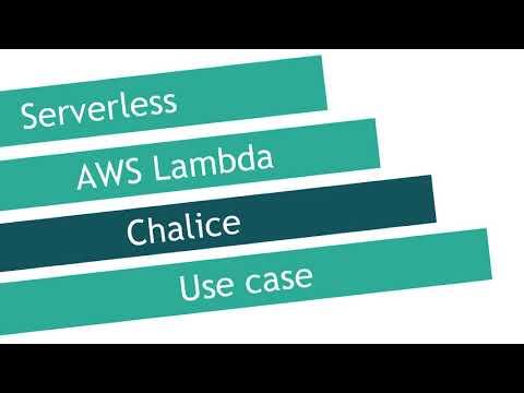 Image from Chalice - AWS Lambda microframework