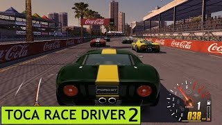Toca Race Driver 2, PC Gameplay, Ford GT 40, Surfer