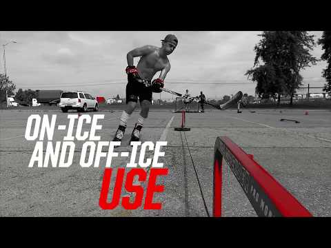 Rush Defender By Hockey Shot | Overspeed Training Tool To Develop Speed, Agility & Linear Crossovers