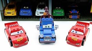 Мультфильм про игрушечные машинки - Тачки Маквин и Мэтр - Видео для детей про машинки