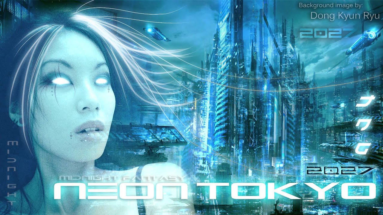 1920x1080 Wallpaper Fururistic Girl Cyberpunk The Enigma Tng Neon Tokyo Youtube