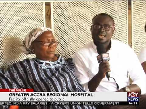 Greater Accra Regional Hospital - The Pulse on JoyNews (17-5-17)