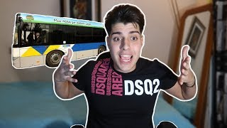 Παραλίγο να πεθάνω μέσα  στο Λεωφορείο.. 😯