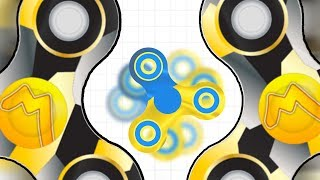 WORLD'S BEST FIDGET SPINNERS..!!! | Slither.io With Fidget Spinners! | Spinz.io Part 8