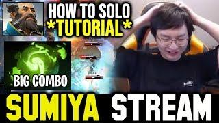 SUMIYA Invoker Tutorial: How to Deal with Kunkka   Sumiya Invoker Stream Moment#812