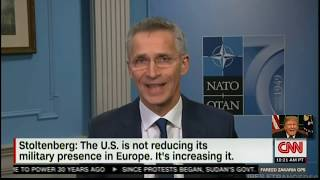 NATO Leader Happy With President Trump