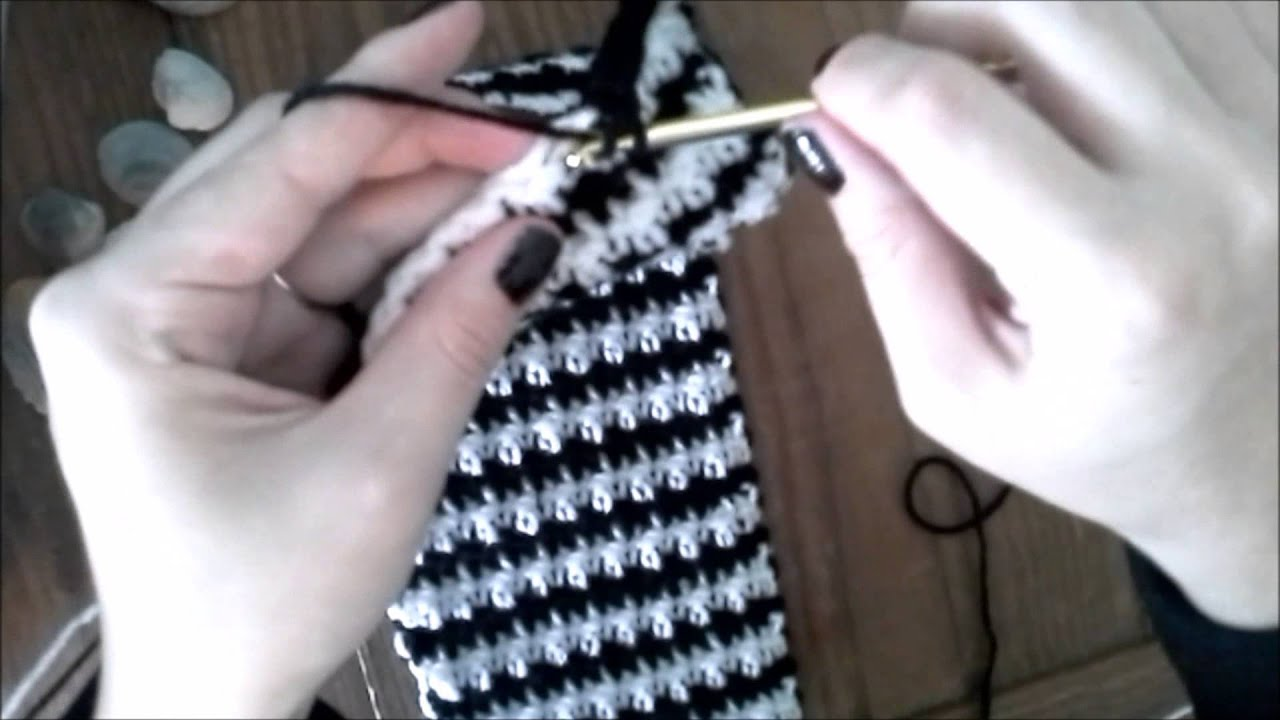 Hounds Tooth \'Houndstooth\' How-To (Best Way) - YouTube