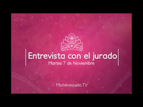 Entrevista con el jurado - Miss Venezuela 2017