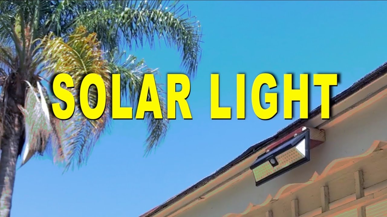 Outside Solar Lights Best Outdoor Led Solar Motion Light 2018 Review
