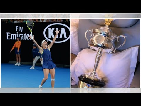 Australian Open champion Caroline Wozniacki booked 2 first class Emirates plane tickets home — one