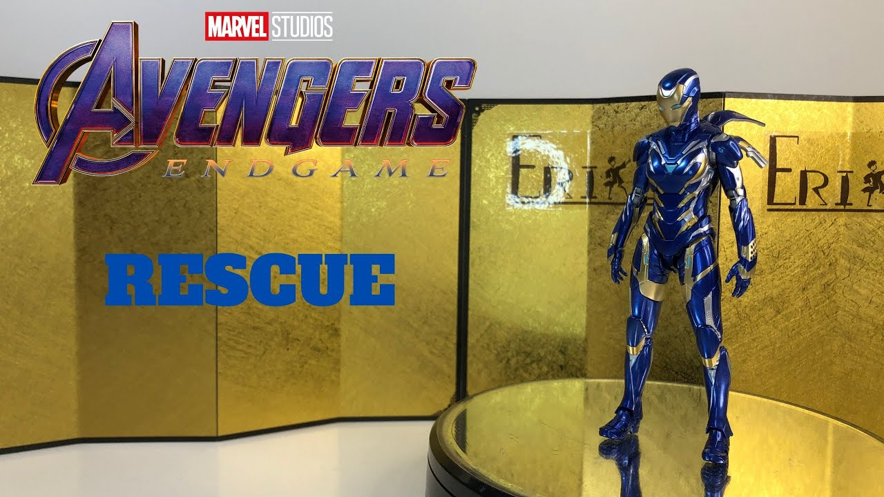 S.H.Figuarts Avengers End Game Rescue (Really nice figure to have?!!)