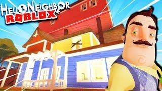 AMAZING HELLO NEIGHBOR REMAKE PRISON ESCAPE!   Hello Neighbor Roblox Gameplay