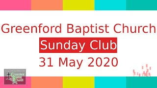 Sunday Club - 31 May 2020