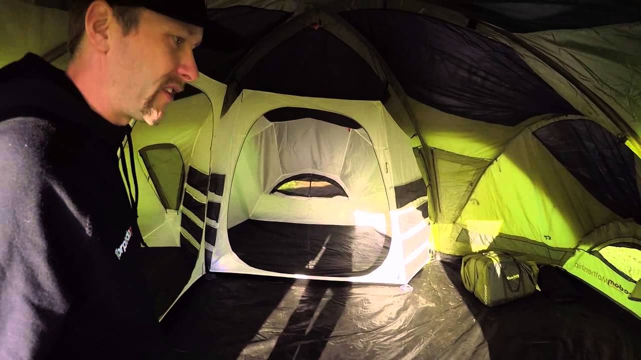 2015 Freedom Camping Mothership Tent Youtube