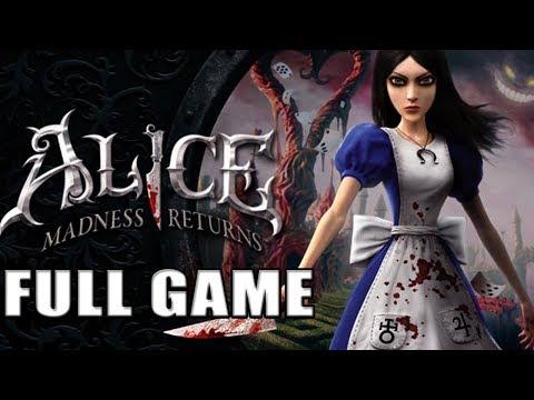 Alice Madness Returns【FULL GAME】  Longplay