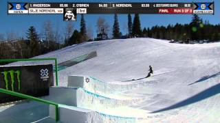 Silje Norendal wins Women's Slopestyle