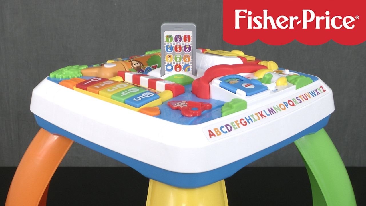 Laugh and learn around the town learning table from fisher price youtube - Table activite fisher price ...