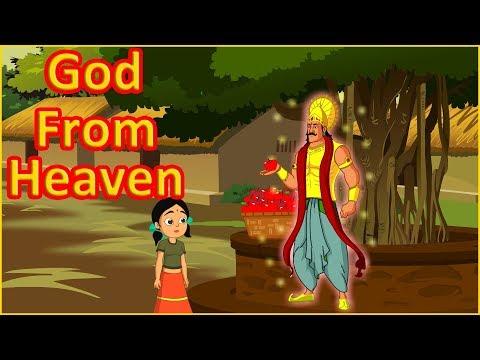 God From Heaven  Moral Stories For Kids  English Cartoon  Maha Cartoon TV English