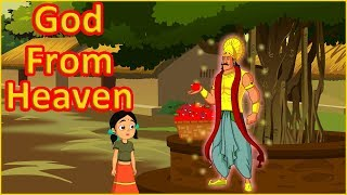 God From Heaven | Moral Stories For Kids | English Cartoon | Maha Cartoon TV English