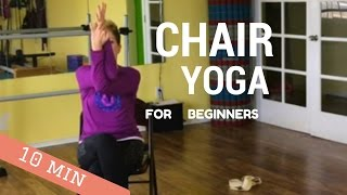 10 Minutes, SEATED CHAIR YOGA, Beginners, Easy-DO-Yoga with Ursula