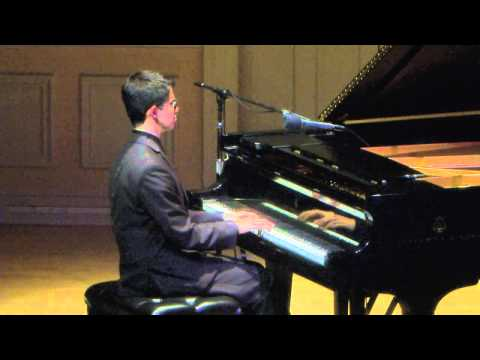 Jazz Pianist Justin Kauflin in Concert