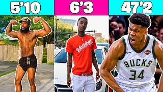 Giannis Akumpo S Height With Flightreacts Youtube