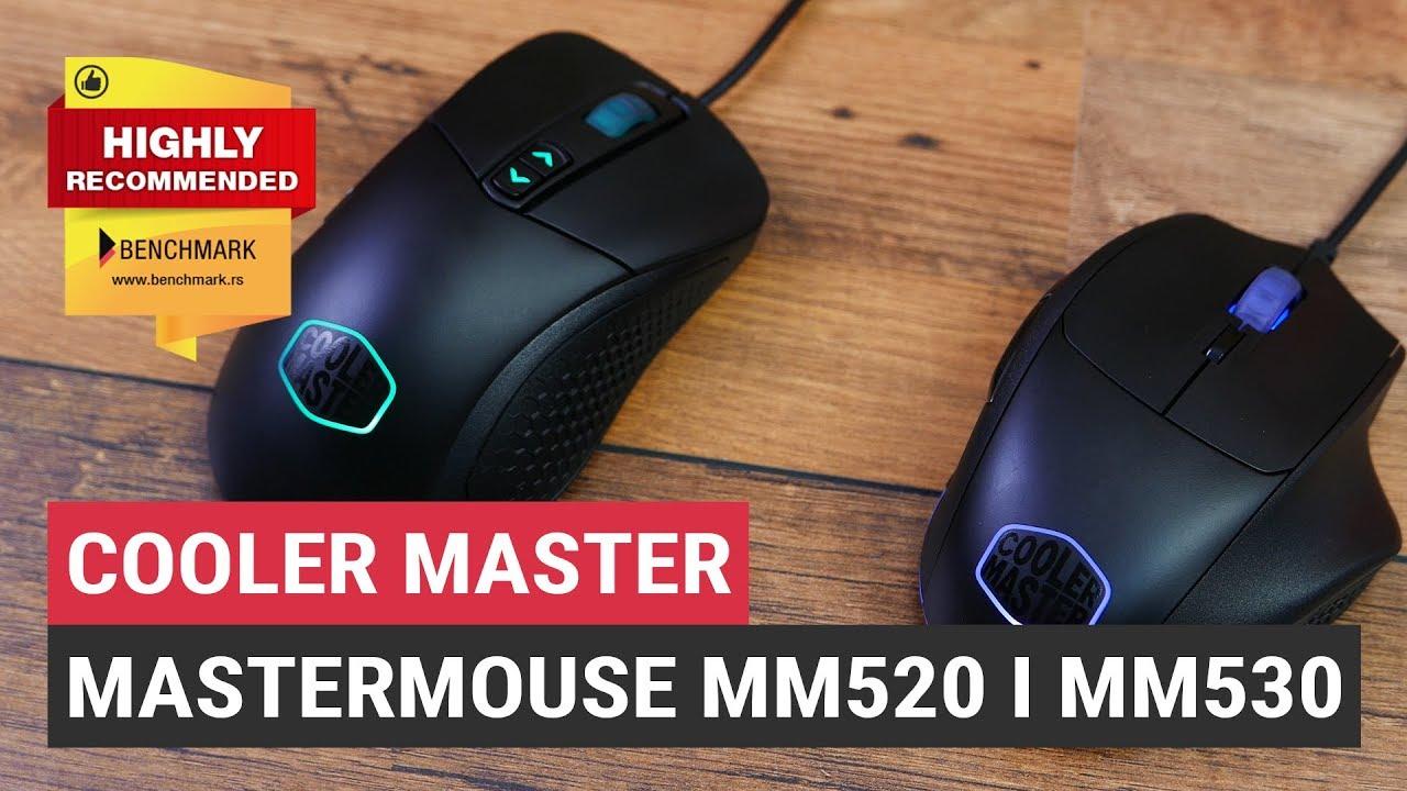 632ae3eb508 Testirali smo: Cooler Master Mastermouse MM520 i MM530 - YouTube