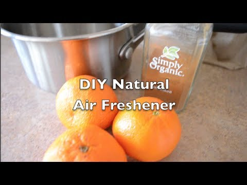 DIY Natural Home Air Freshener - Two Minute Tuesday