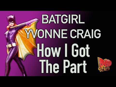 Batgirl Yvonne Craig reveals