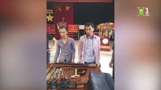 Công an huyện Ba Vì bắt 2 đối tượng chuyên trộm cắp | Tin nóng | Tin tức 141