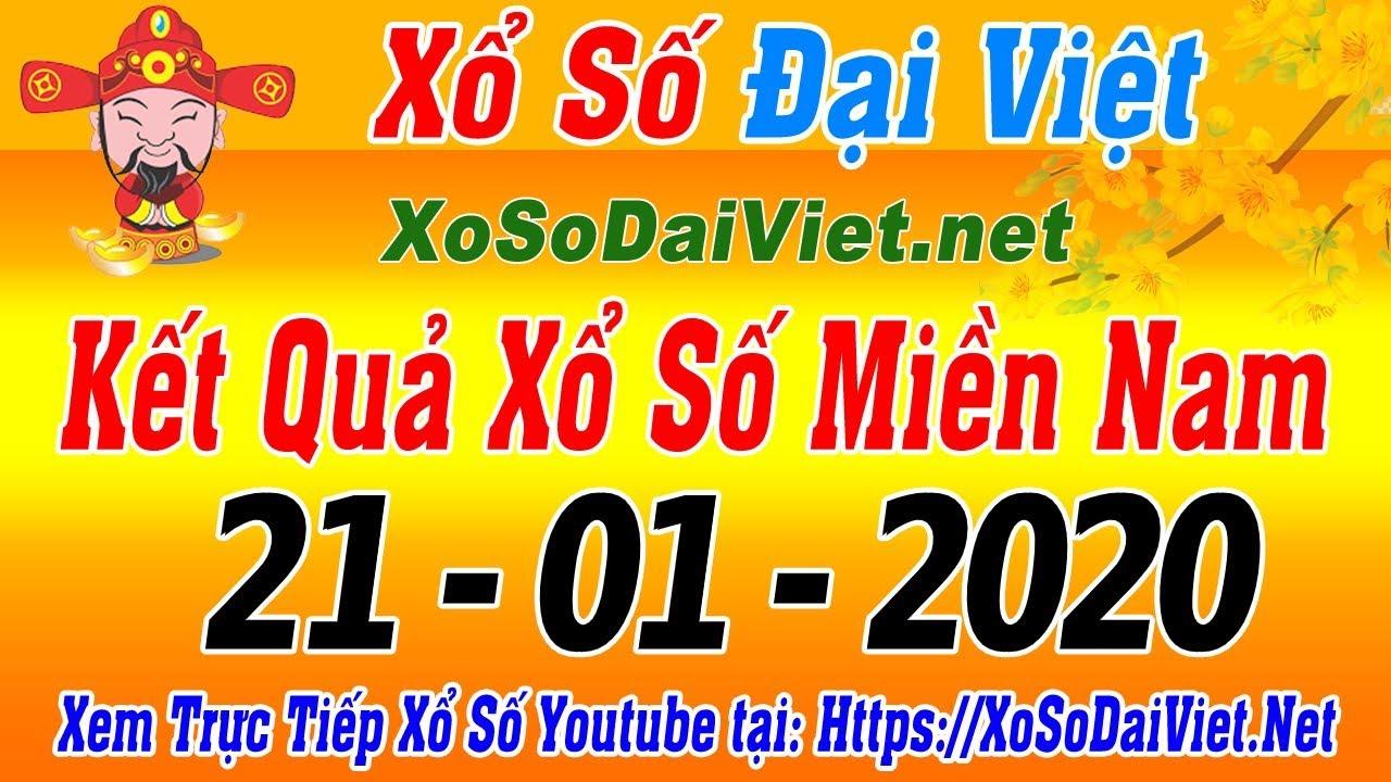 KQXSMN – Xổ Số Miền Nam Thứ 3 XSMN Ngày 21/01/2020 | KQXS Miền Nam,SXMN, XSTT