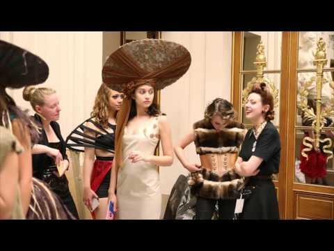 Défilé en Sorbonne des écoles de mode de l'académie de Paris 2015 - Etoile d'un jour