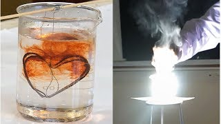 8 minutes of joy with Chemistry experiments