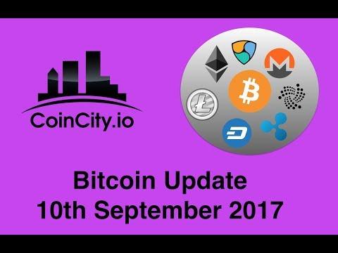 Bitcoin CoinCity Update 10 Sept 2017
