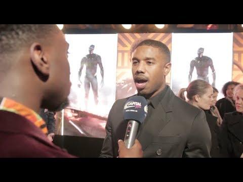 Michael B. Jordan, Daniel Kaluuya & Lupita Nyong'o Talk 'Black Panther' Movie With Robert Bruce