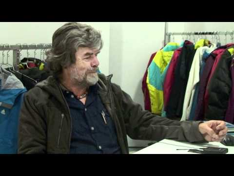 Reinhold Messner part 2 Surprised by his success and bolts