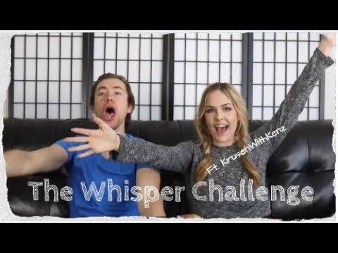 BAD LIP READING WHISPER CHALLENGE ft. KrusenWith Kenz